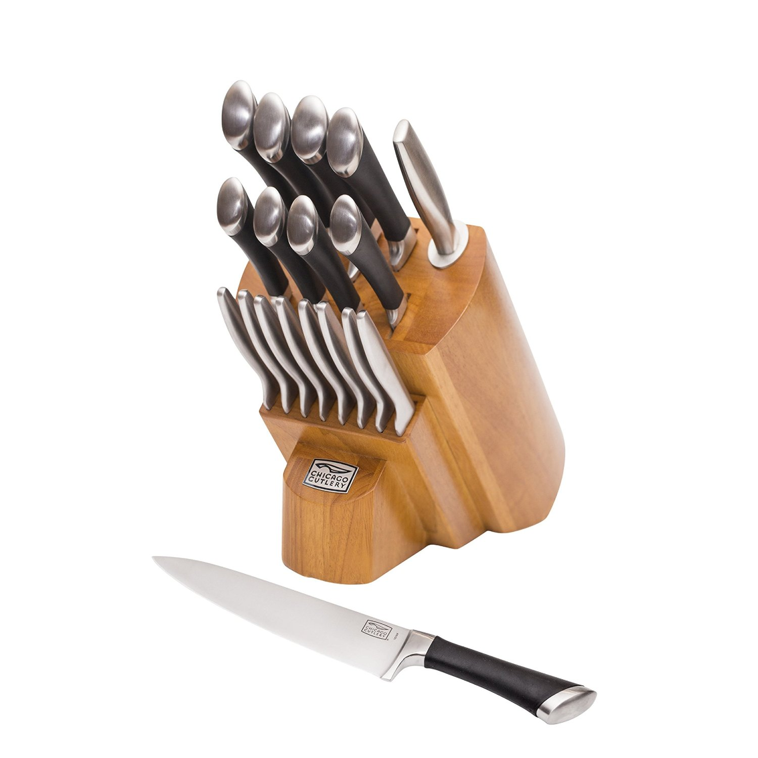 Chicago Cutlery Fusion Forged 18 Piece Knife Block Set Review