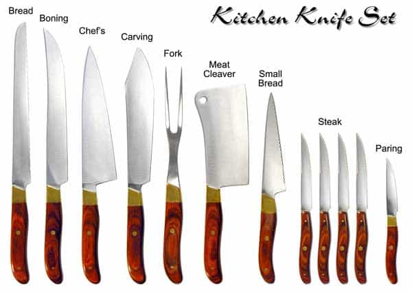 Type Of Kitchen Knives | Are The Best Kitchen Knives