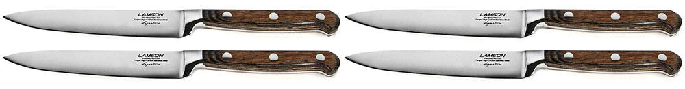 Lamson Signature Forged Steak Knives