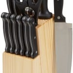AmazonBasics 14-Piece Knife Block Set Review