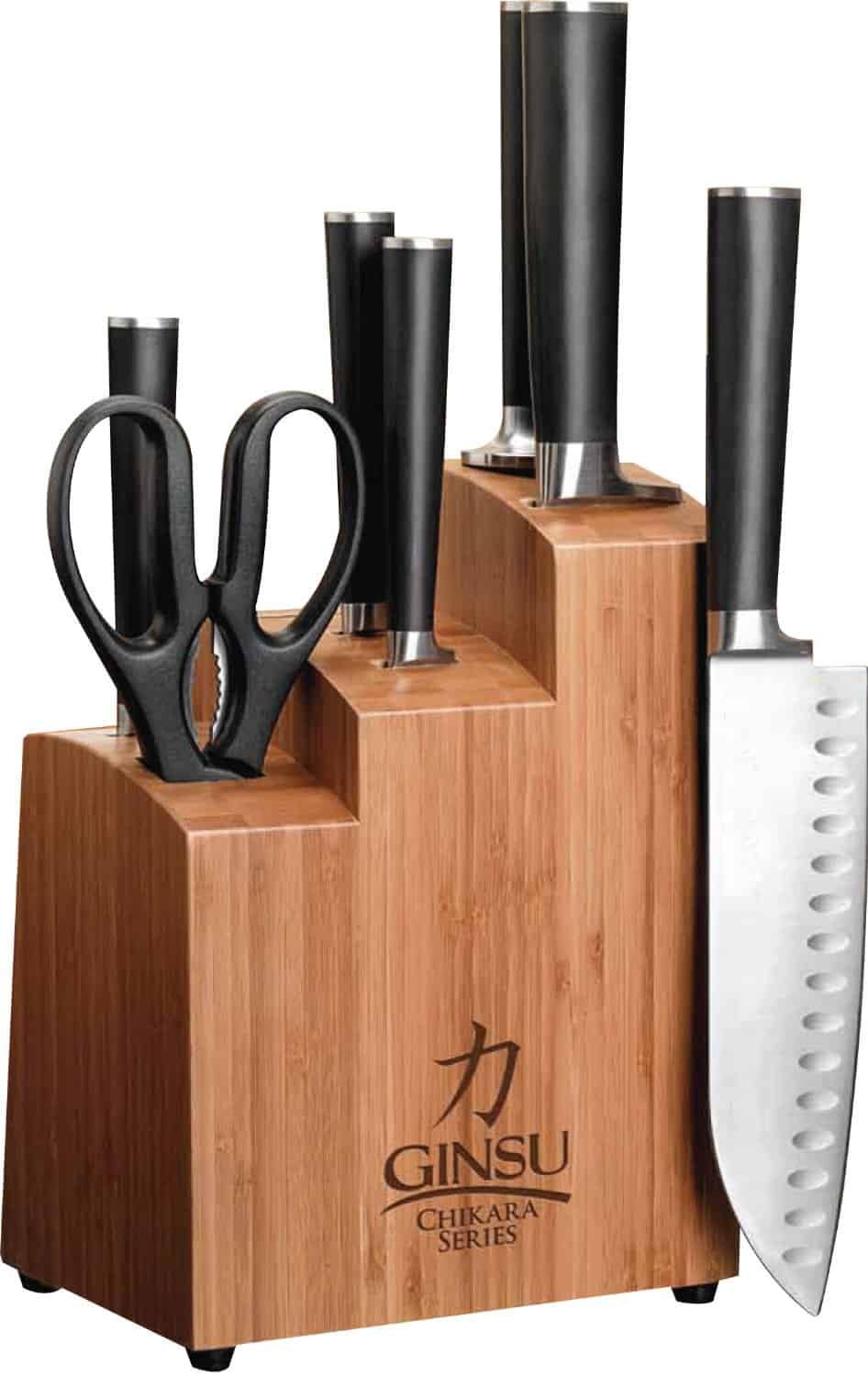 Ginsu  Chikara 8-Piece Stainless Steel Knife Set Review