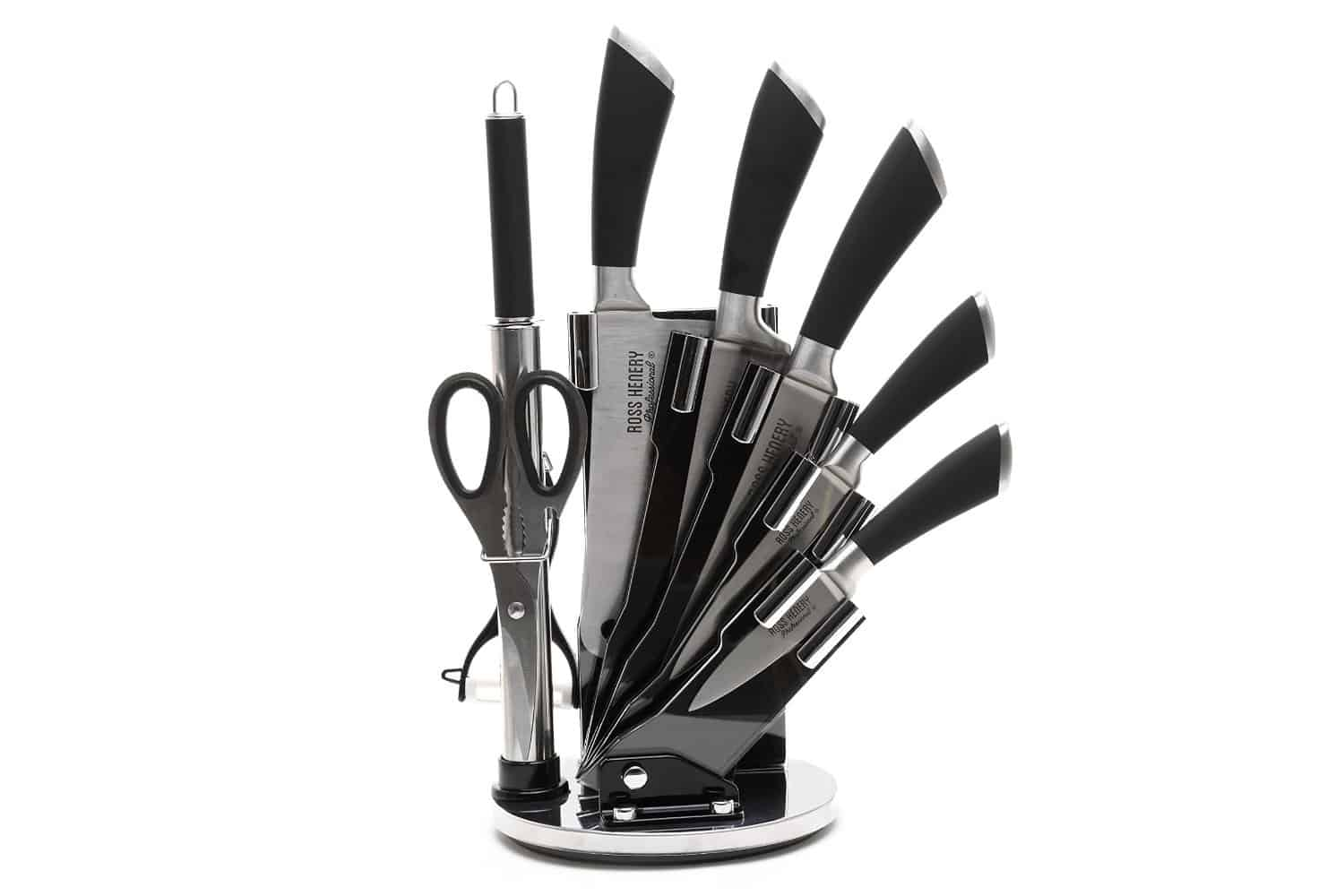 Ross Henery Modern Stainless Steel 8 Piece Kitchen Knife Set Review