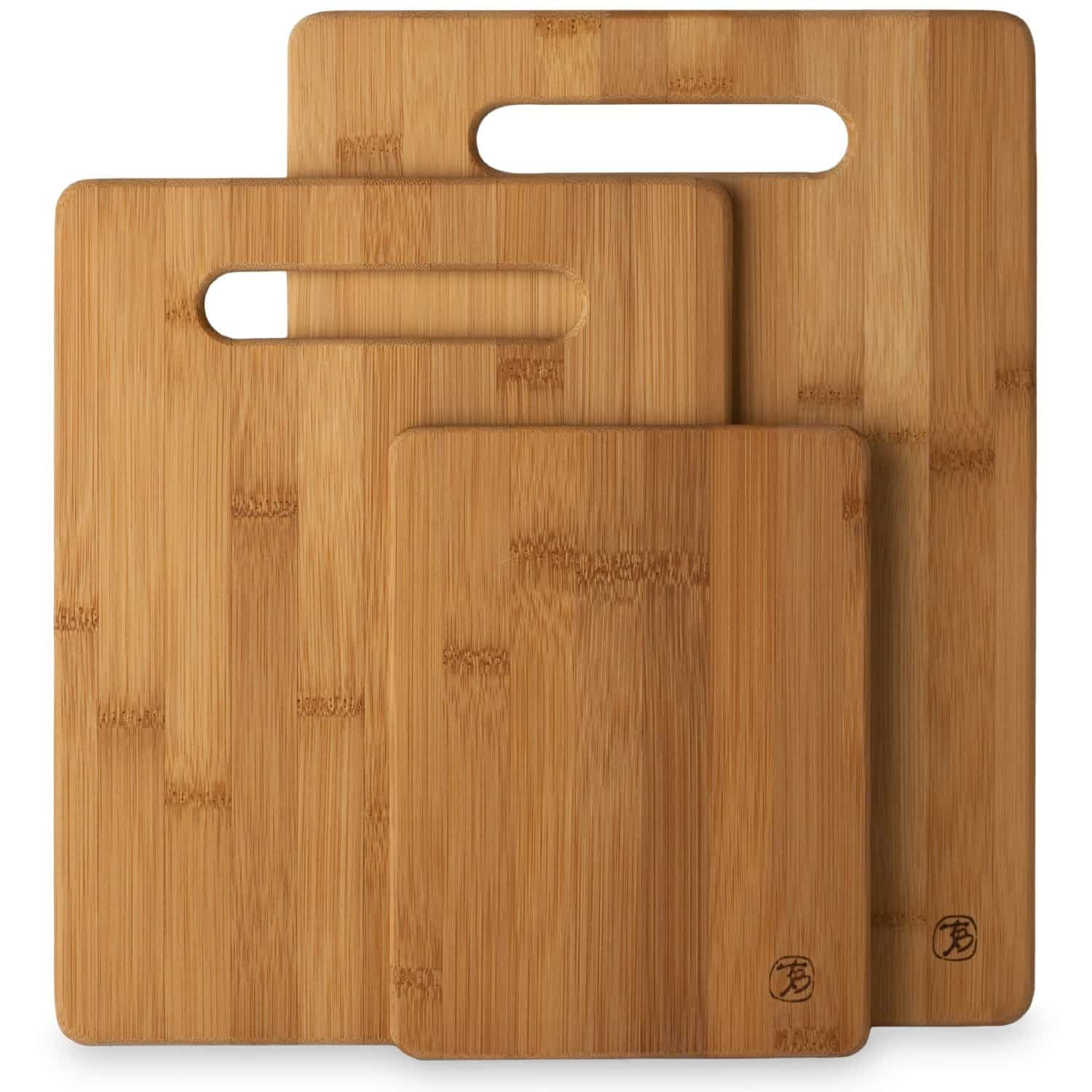 Totally Bamboo 3 Piece Bamboo Cutting Board Review 1