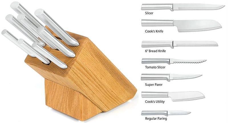 Rada Cutlery S58 Colossal Oak Block Set