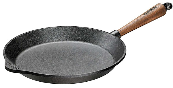 Skeppshult Walnut Handle Fry Pan