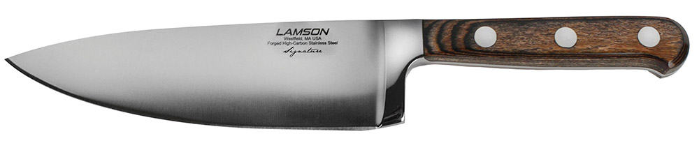 Lamson Signature Chef Knife