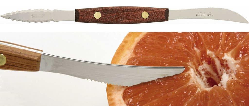 Norpro 1270 Twin Blades Grapefruit Knife