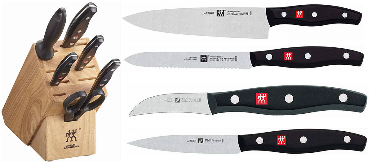 Zwilling J.A. Henckels TWIN Signature Knife Block Set
