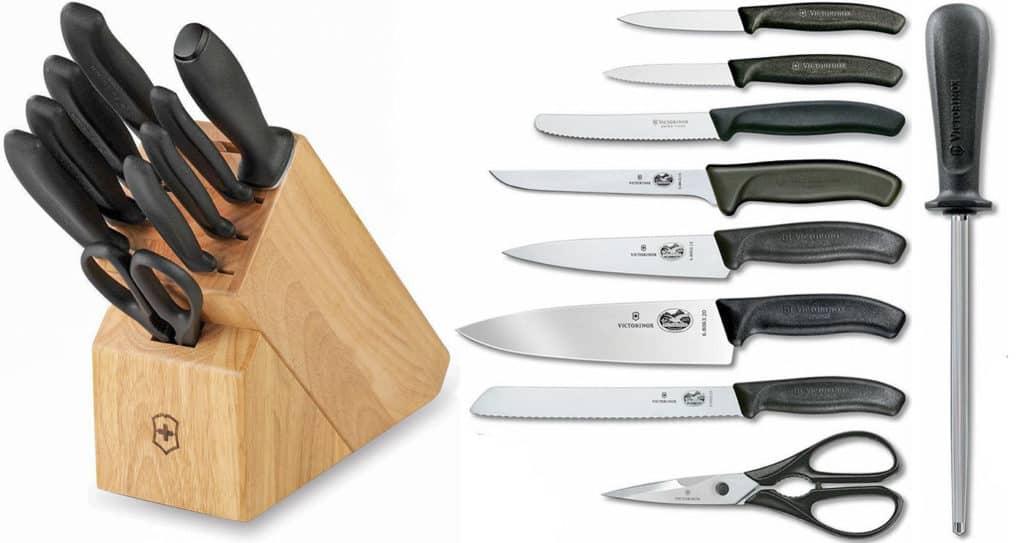 Victorinox Swiss Classic Knife Block Set