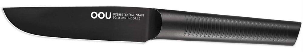 OOU High Carbon Stainless Steel Black Fruit Knife