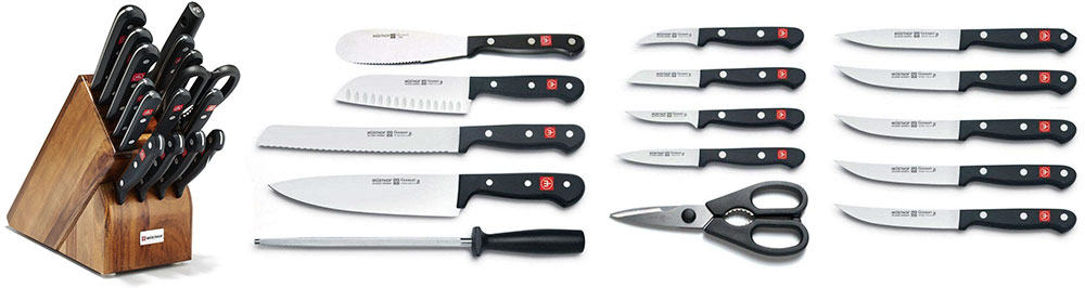 Wüsthof 18-Piece Knife Set 8516-6