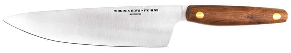 Virginia Boys Kitchens 8 Inch Chef Knife