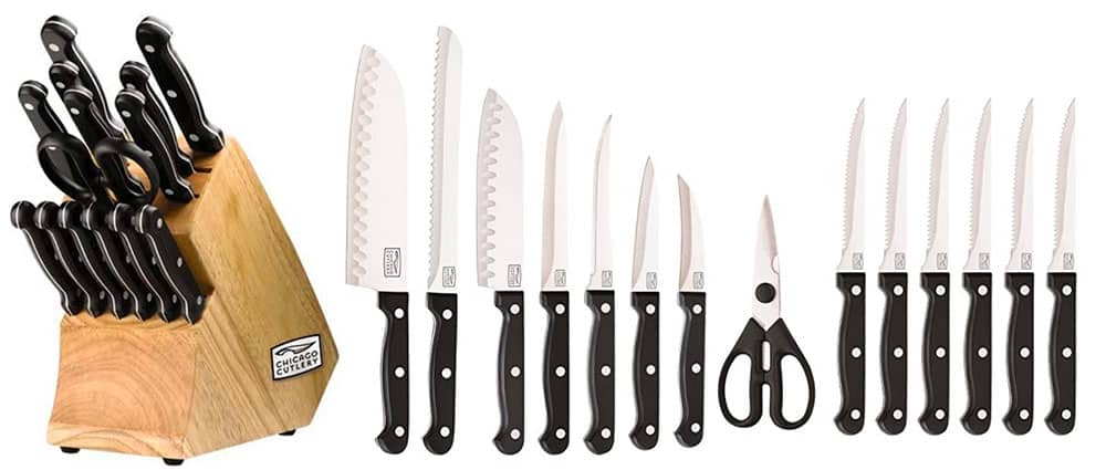 Top 10 Best Chicago Cutlery Knife Sets 2020 1
