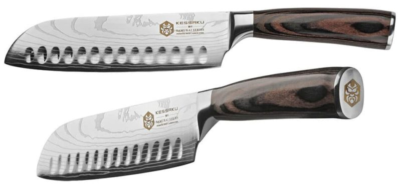 Kessaku 7 Inch Santoku Knife - Samurai Series
